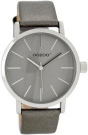 OOZOO JR zilvergrijs 40 mm