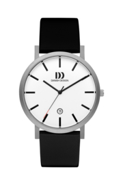 Danish Design horloge wit 40 mm