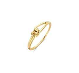 Gouden ring knoop