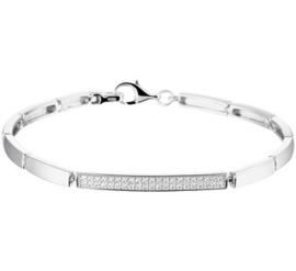 Armband zirkonia 5,0 mm 18,5 cm