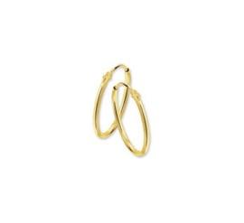 Gouden oorringetjes 9 mm