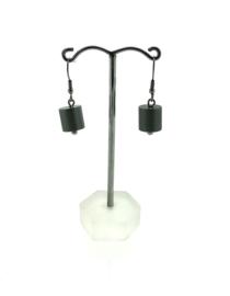 MOOI oorhangers cilinder grijs