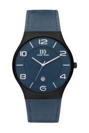 Danish Design horloge blauw 42 mm