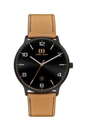 Danish Design horloge zwart 39 mm