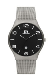 Danish Design horloge zwart 42 mm