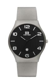 Danish Design horloge zwart 42 mm