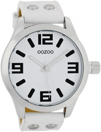 OOZOO horloge wit 46 MM