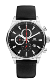 Danish Design horloge antraciet 43 mm