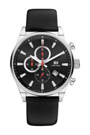 Danish Design horloge antraciet 43 mm