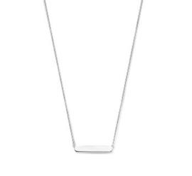Collier graveerhanger 40 - 42 - 44 cm