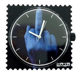 STAMPS-horloge middelvinger
