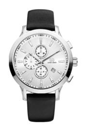 Danish Design horloge zilver 45 mm