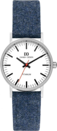 Danish Design horloge blauw 30 mm