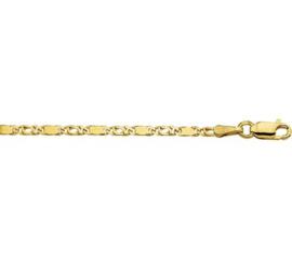 Gouden armbandje valkenoog