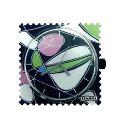 STAMPS-horloge universum