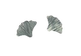 Ginkgo oorstekers zilver