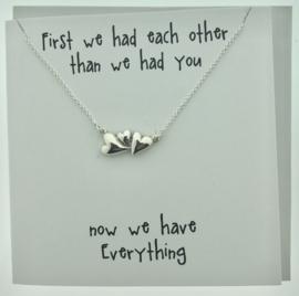 Zilveren geschenk EVERYTHING