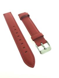 Horlogebandje 16 mm rood