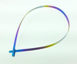 Titanium gesloten spang multicolor