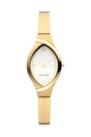 Danish Design horloge goud 22 mm
