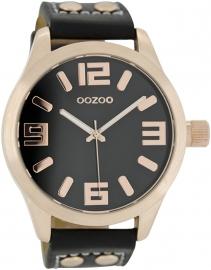 OOZOO horloge zwart / rosé 46 MM