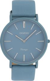 OOZOO vintage volledig blauw 44 mm
