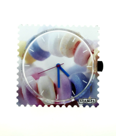 STAMPS-horloge sweet candy