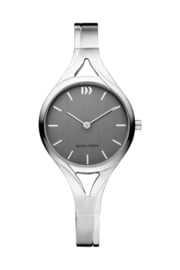 Danish Design horloge antraciet 28 mm