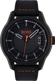 Hugo Boss Orange nylon zwart 46 mm