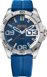 Hugo Boss Orange siliconen blauw 48 mm