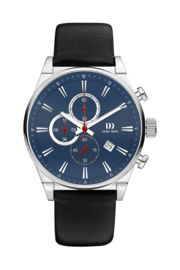 Danish Design horloge blauw 43 mm