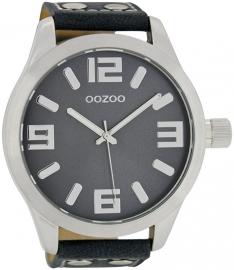 OOZOO horloge blauw 51 MM