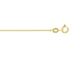 Gouden lengteketting anker  41 - 43 - 45 cm