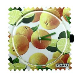 STAMPS-klokje citrusfeest