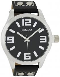 OOZOO horloge zwart 46 MM