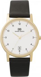 Danish Design horloge wit/goud 34 mm