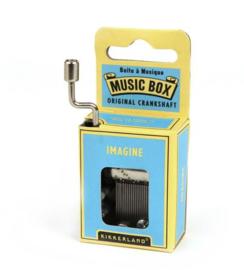 CRANK MUSIC BOX . Imagine (John Lennon)