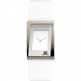 Danish Design horloge wit 24mm
