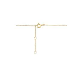 Gouden collier sleutel