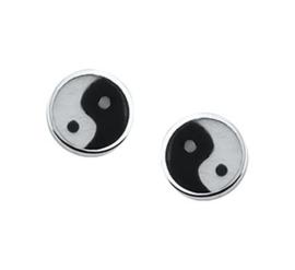 Oorknoppen yin yang