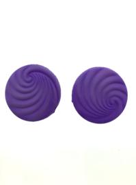 Clips lila spiraal