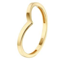 Gouden ring golfje