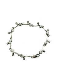 Zilveren armband met zirkonia stenen