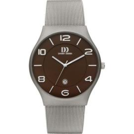 Danish Design horloge bruin 42 mm