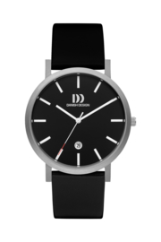 Danish Design horloge zwart 40 mm