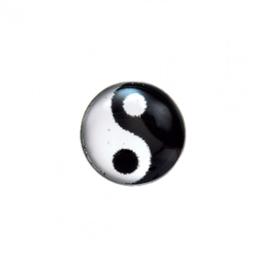Zweerknopjes Yin-Yang