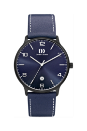 Danish Design horloge blauw 39 mm