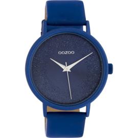 OOZOO timepieces blauw 42 cm