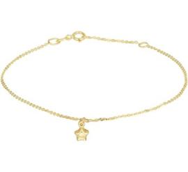 Gouden armbandje sterretje