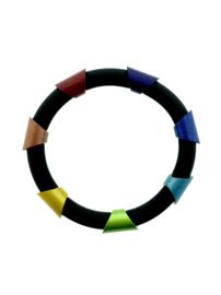 Tjongejonge armband stukken multicolor